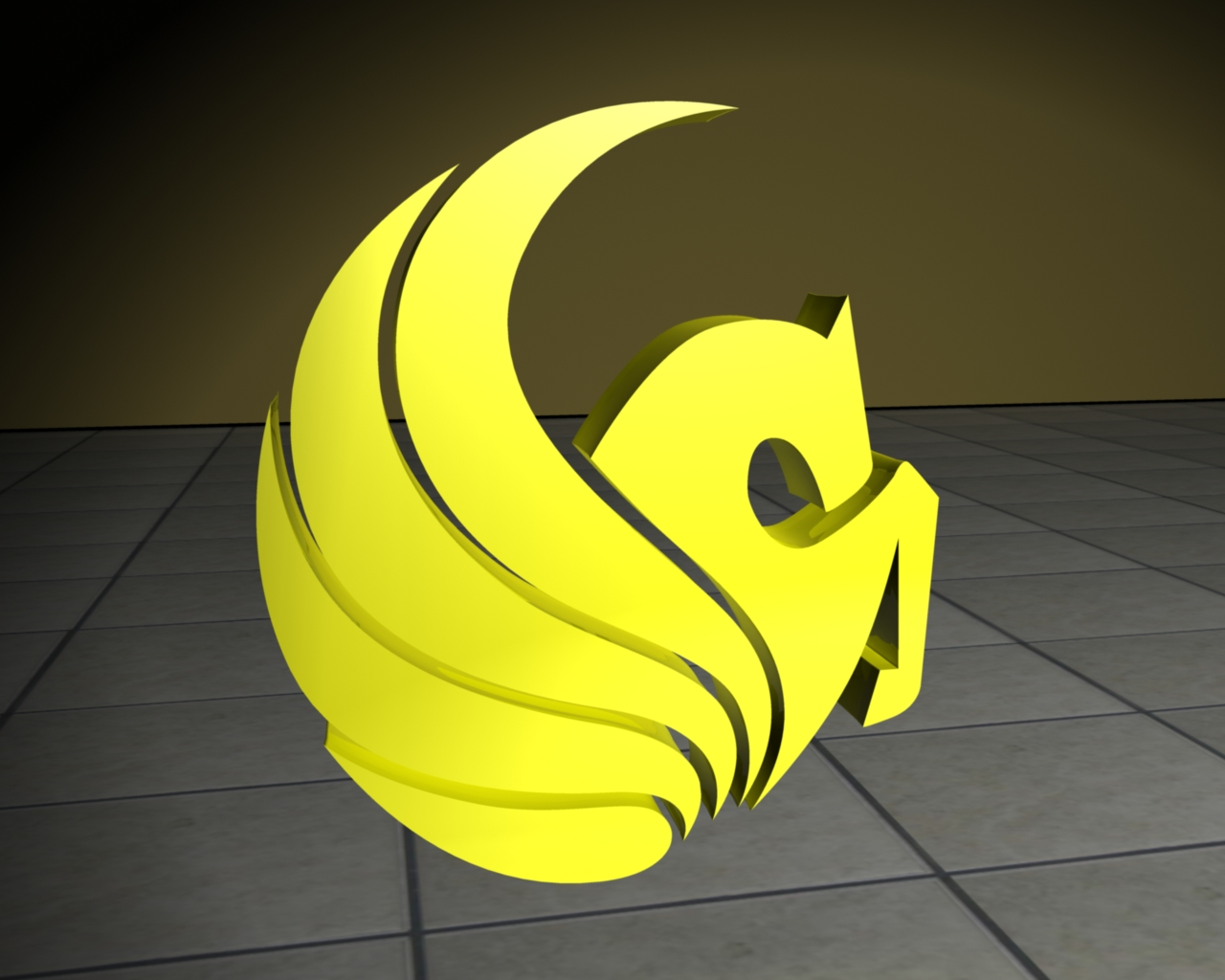 Ucf Pegasus Here s some of my 3d logo sUcf Pegasus Logo