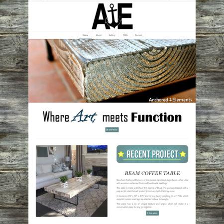 AE_Home_Screenshot - Front end web dev