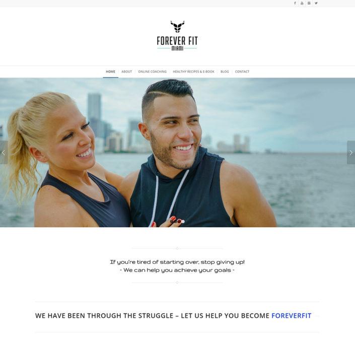 FFM_Home_Screenshot - Front end web dev